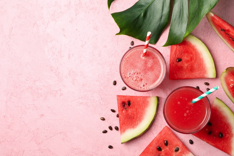 Watermelon smoothie to make after watermelon sugar lip scrub