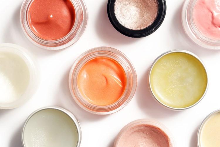 Lip balm to apply after watermelon lip scrub