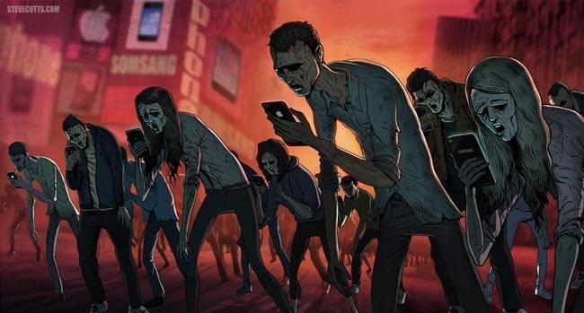 zombi-apocalypse-mobile-phones
