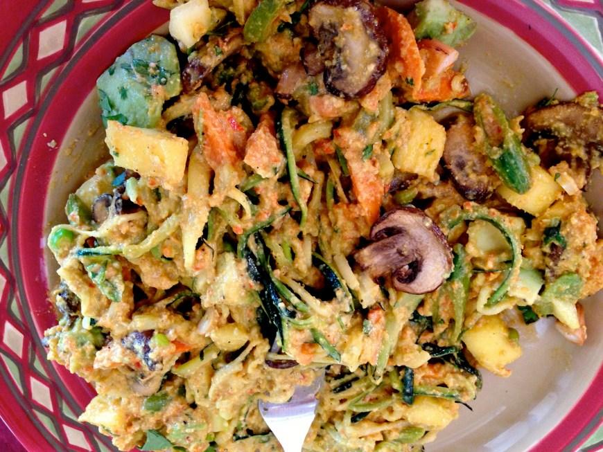 Creamy Cashew Curry by BeautyBeyondBones #glutenfree #vegan #paleo #food #edrecovery #healthyfood #dinner