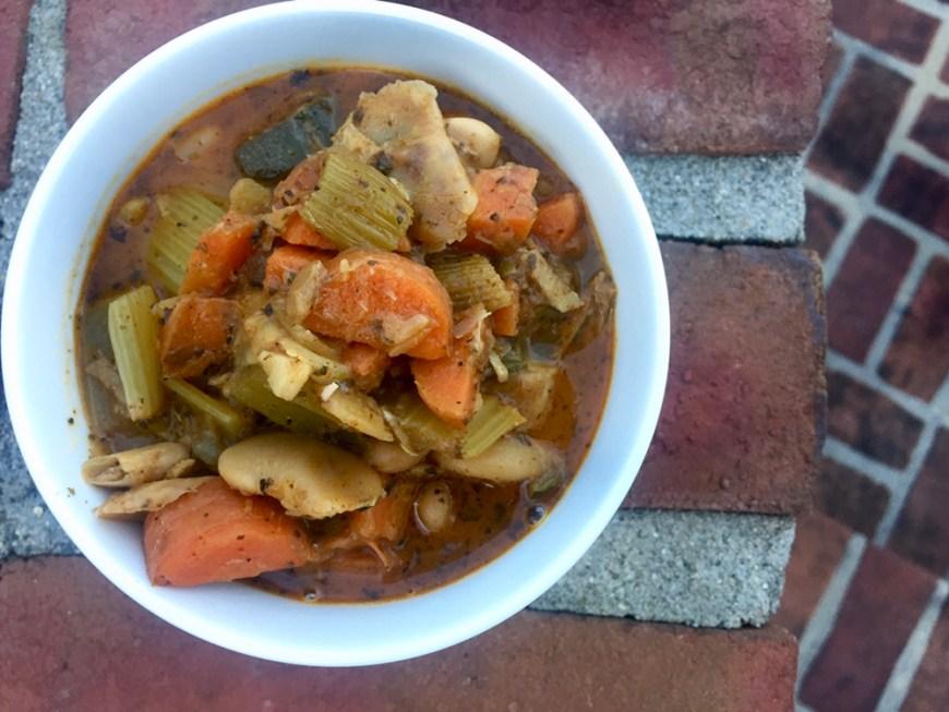Hearty Vegetable Soup by BeautyBeyondBones #vegetarian #vegan #soup #glutenfree #dinner #food #edrecovery