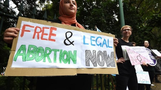 ABORTION BILL QUEENSLAND