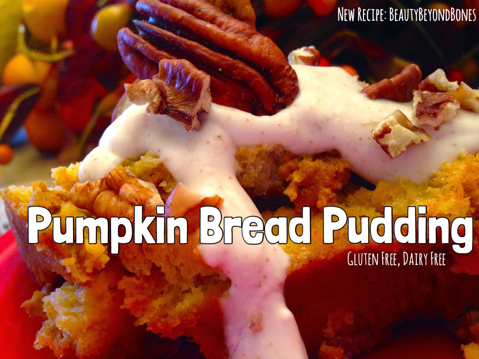 Pumpkin Bread Pudding!
