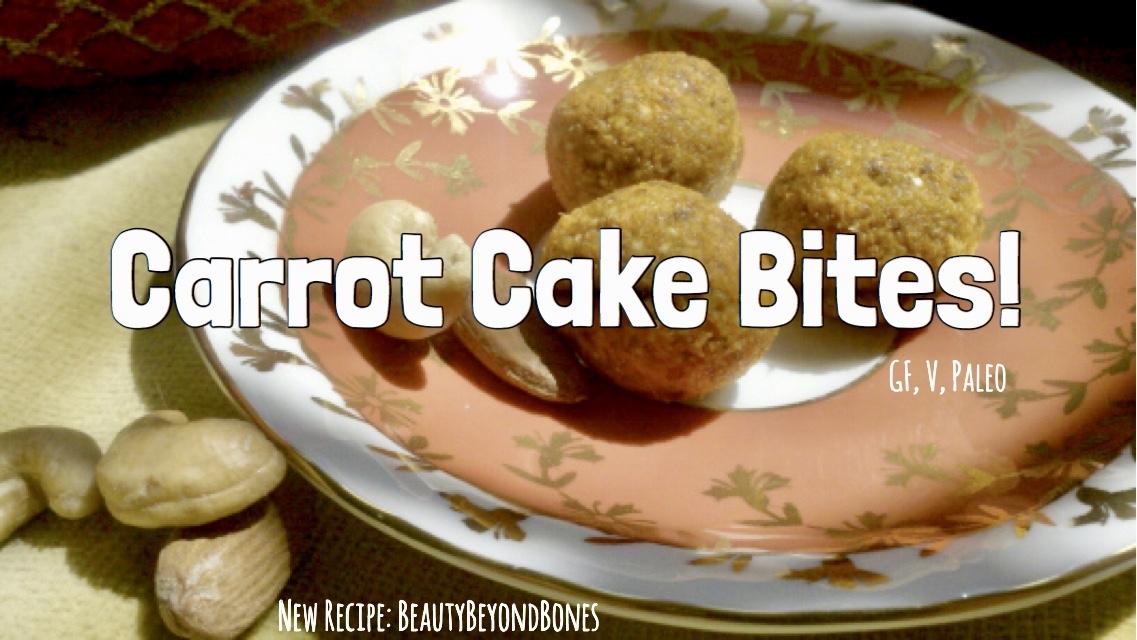 Carrot Cake Bites!