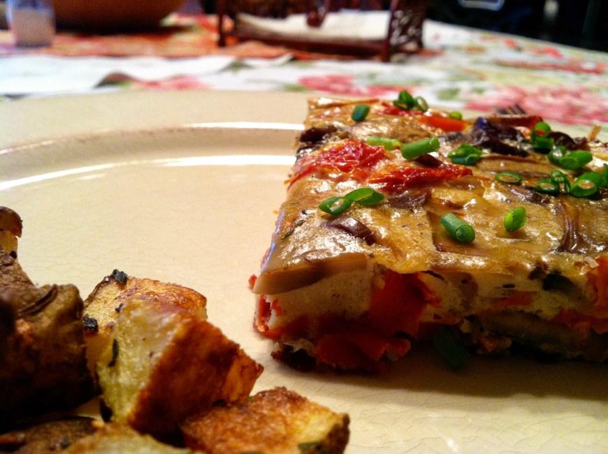 Rosso Frittata by BeautyBeyondBones #glutenfree #paleo #food #breakfast #edrecovery
