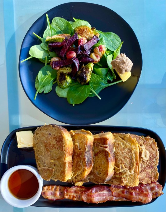 Fabulous French Toast by BeautyBeyondBones! #food #healthyfood #brunch #breakfast #vegetarian #yum #edrecovery #cooking #goodeats