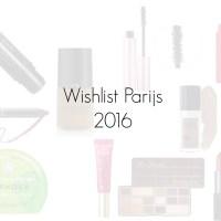 Wishlist Parijs 2016!