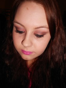 Pretty In Pink, Beauty Bliss using MAC Cranberry