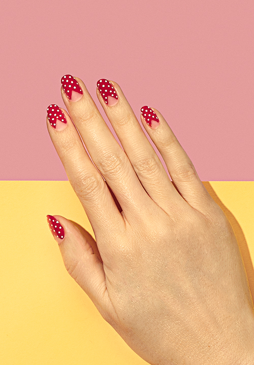 How To Make Valentines Day Nail Art Look Chic Beauty Blitz