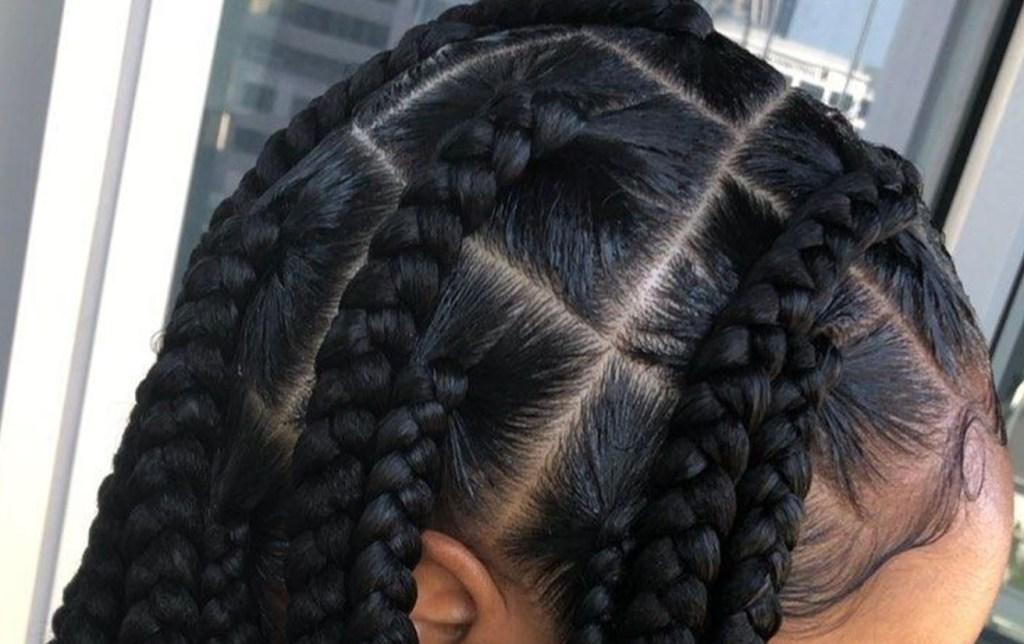 Spring 2021 Hair Trend Jumbo Box Braids