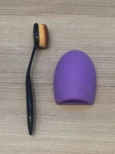 Review-eBay-beauty-tools-BrushEgg-oval-brush
