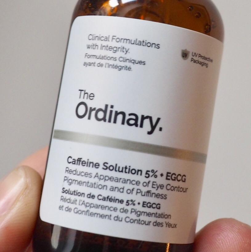 Puffy Eye Remedies- Caffeine Solution by The Ordinary