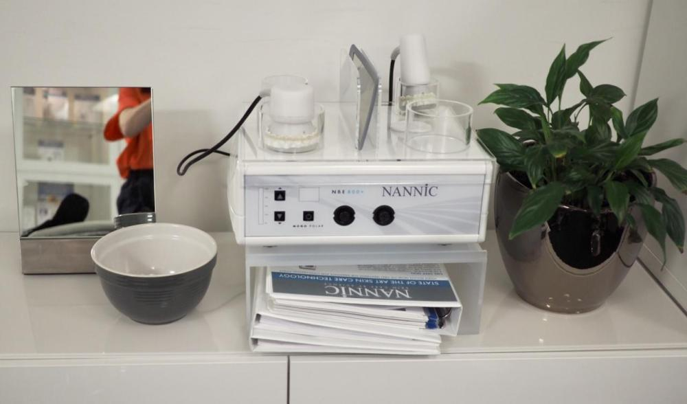 Nannic Radio Frequency Facial Treatment- the NBE machine