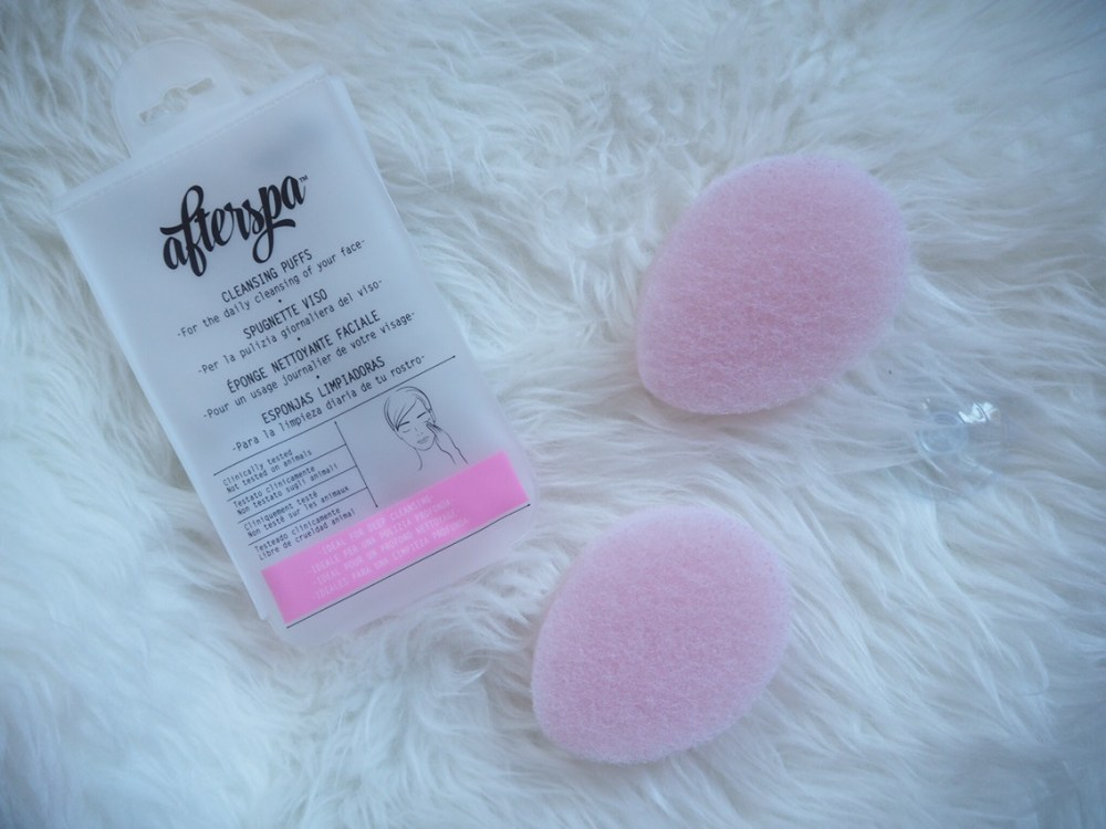 AfterSpa Face Cleansers Review- Cleansing Puffs