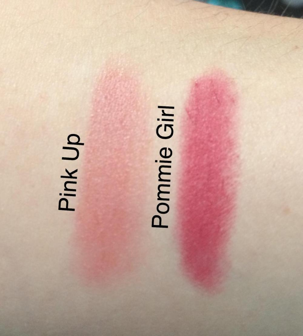 soap-and-glory-sexy-mother-pucker-lipstick-satin-pink-up-matte-pomme-girl-swatches