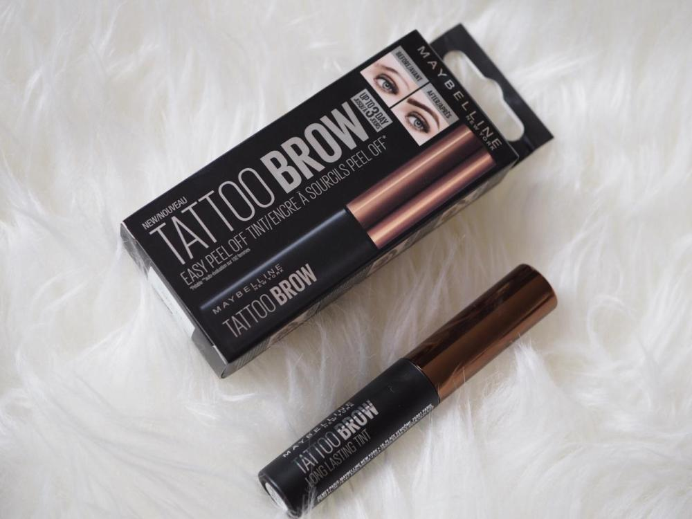 97858e47f90 Maybelline Tattoo Brow Easy Peel Off Tint Review