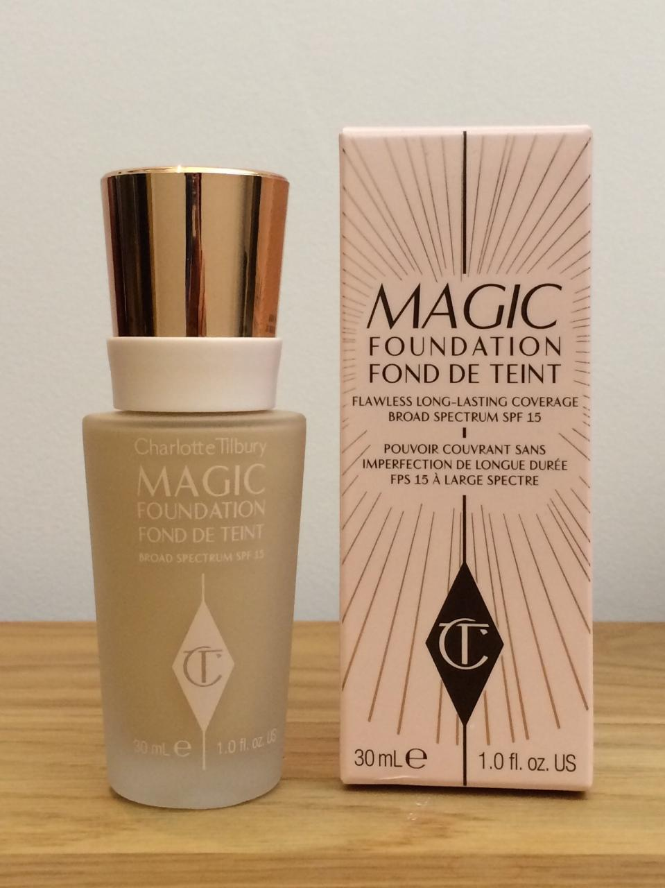charlotte tilbury magic foundation shade 3.5 packaging