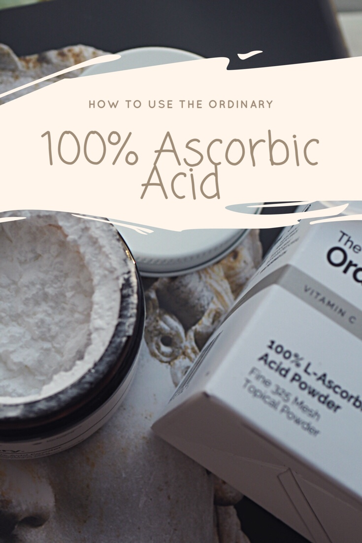 How To Use The Ordinary 100% L Ascorbic Acid Powder