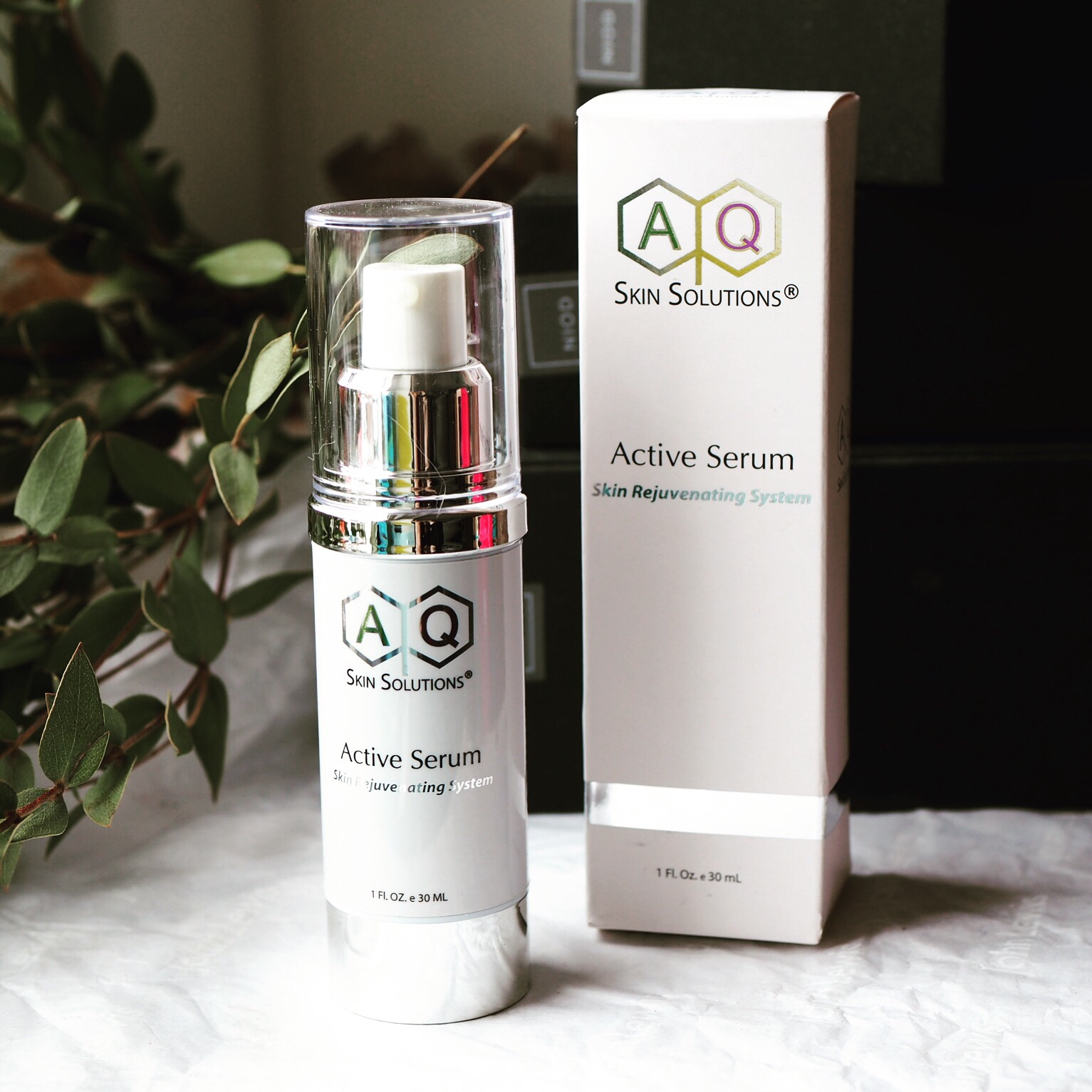 Review of AQ Skin Solutions EGF Rich Active Serum With
