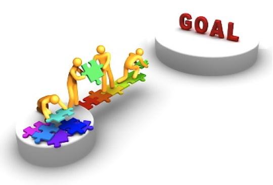 ゴール 目標 協力