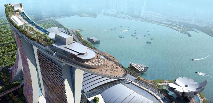 シンガポールホテル マリーナベイサンズ