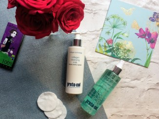 Proto-col Collagen cleansing milk and toning mist