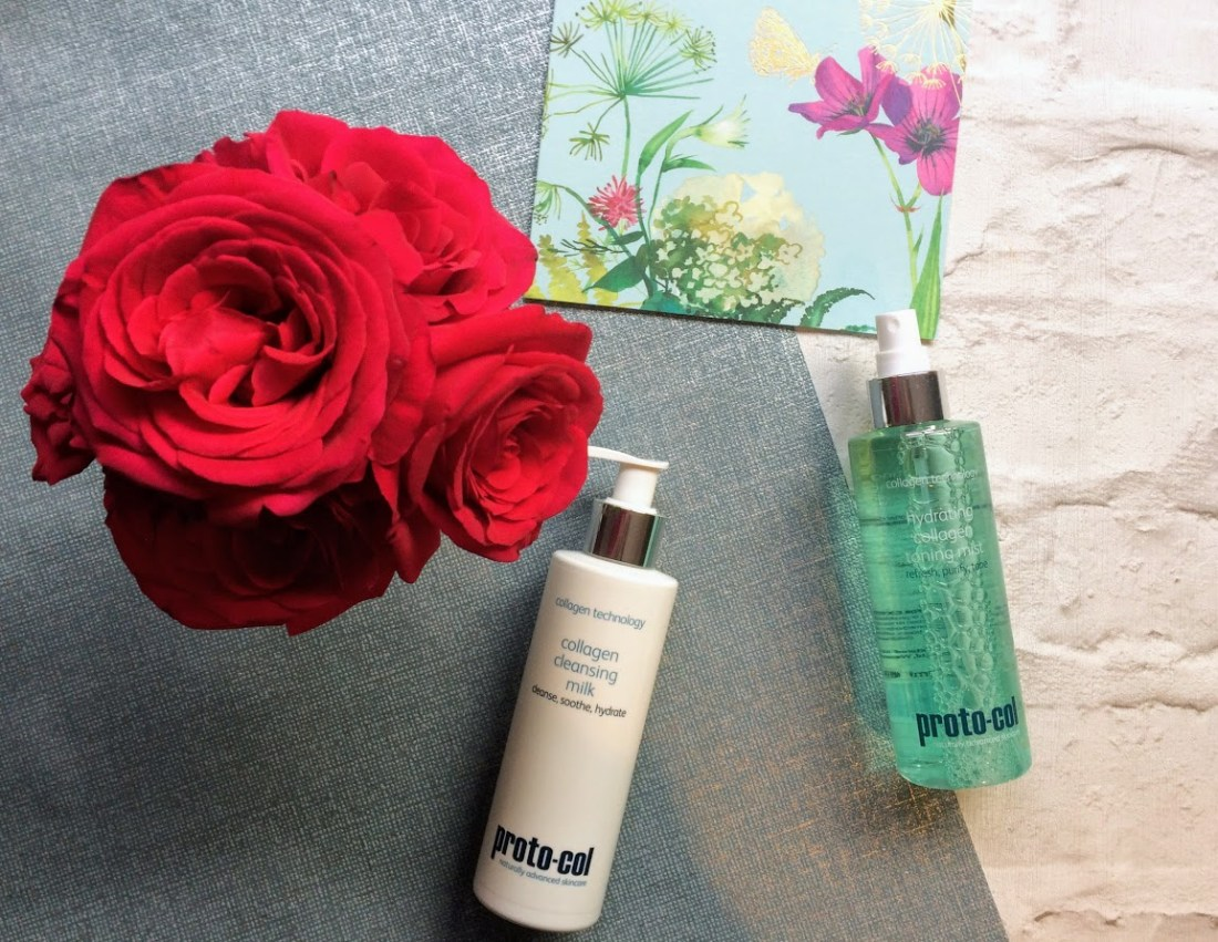 Proto-col Collagen Cleanising Milk and Collagen hydrating toning mist