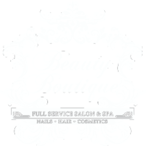 The Beauty Boutique Sparks Logo Small White