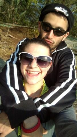 Chris & I (: