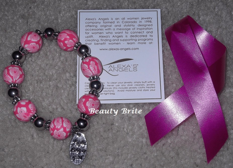 "Pink Zoey ""Fight Like A Girl"" Bracelet"