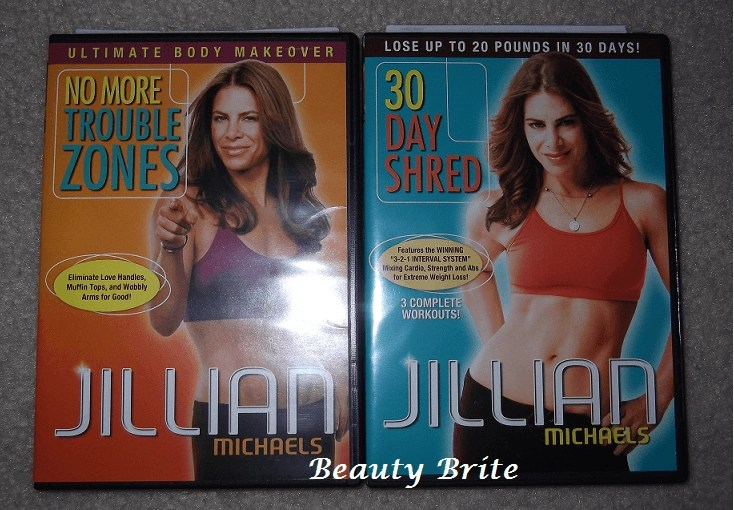 Jillian Michaels DVDs