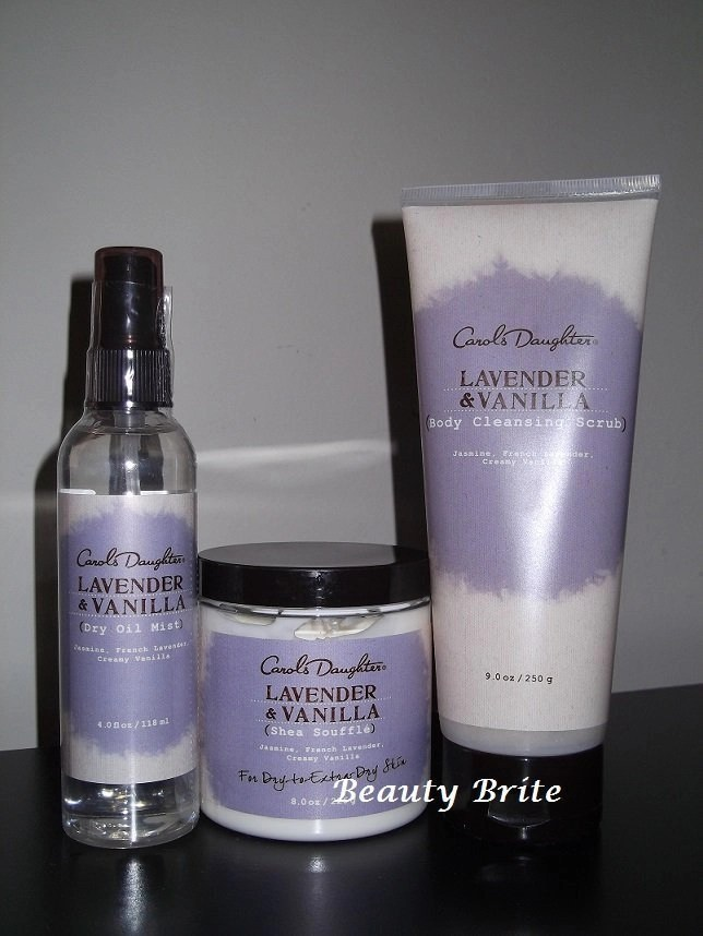 Carol's Daughter Lavender & Vanilla Collection