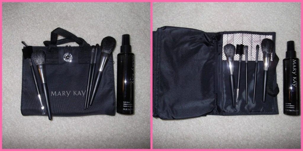 Mary Kay Brush Collection and Brush Cleaner