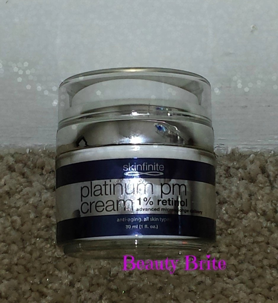 Platinum PM 1% Retinol Night Cream