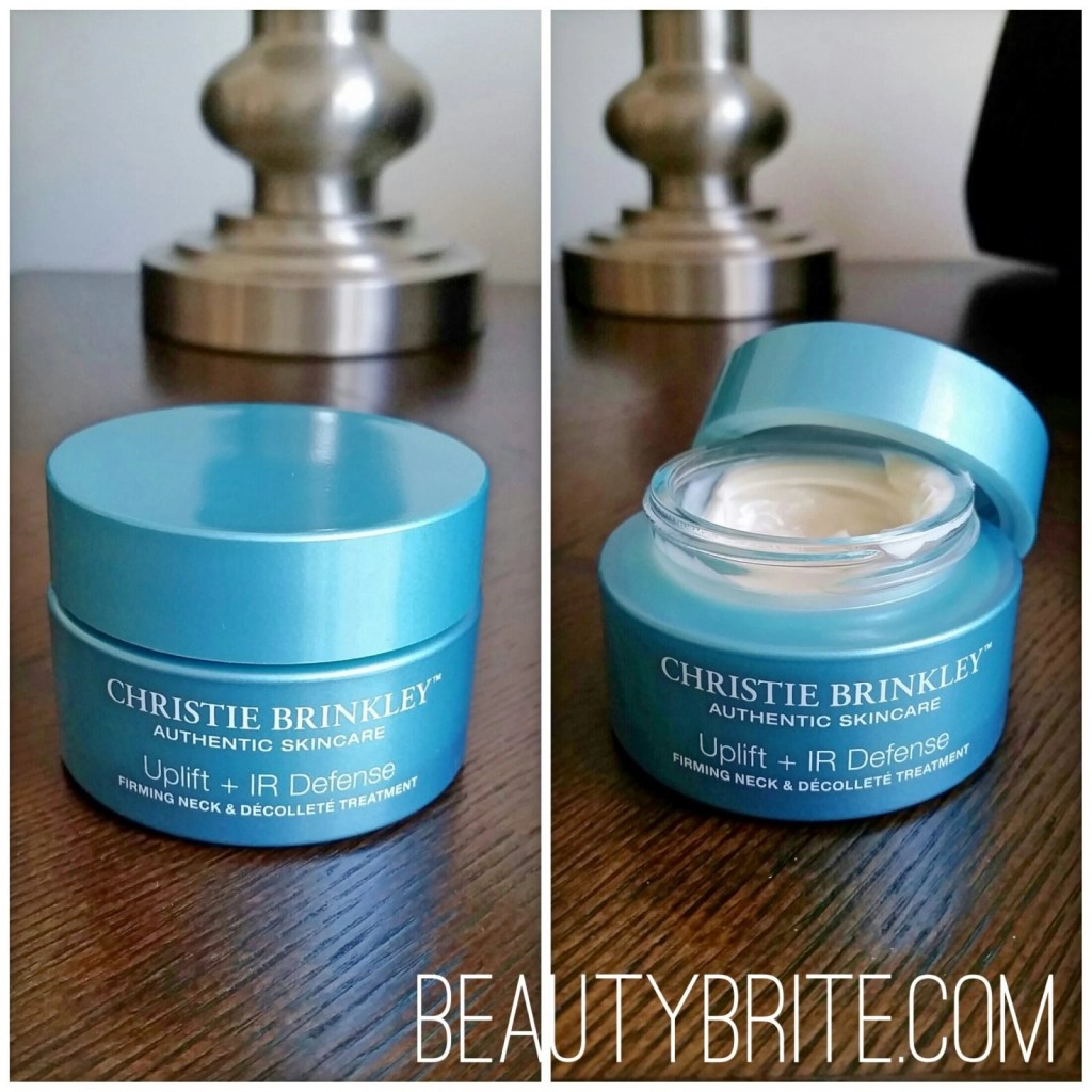 Christie Brinkley Uplift + IR Defense Firming Neck & Decollete Cream