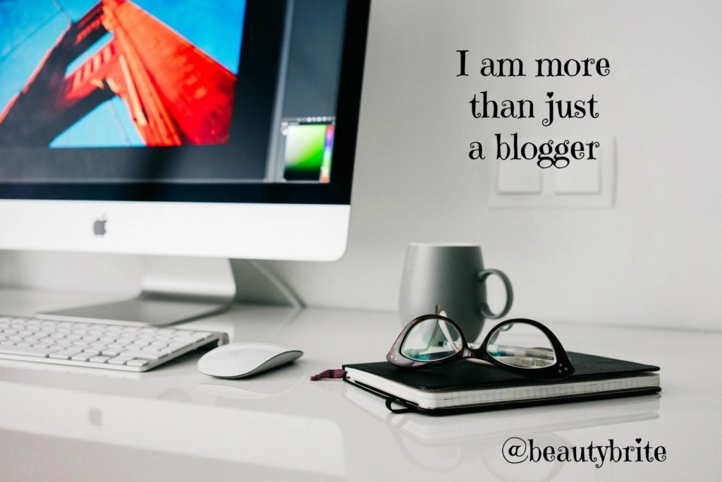 I am more than just a blogger