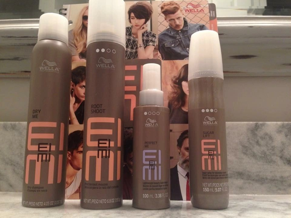 Pump up the Volume with EIMI by Wella