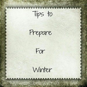 Tips to Prepare for Winter