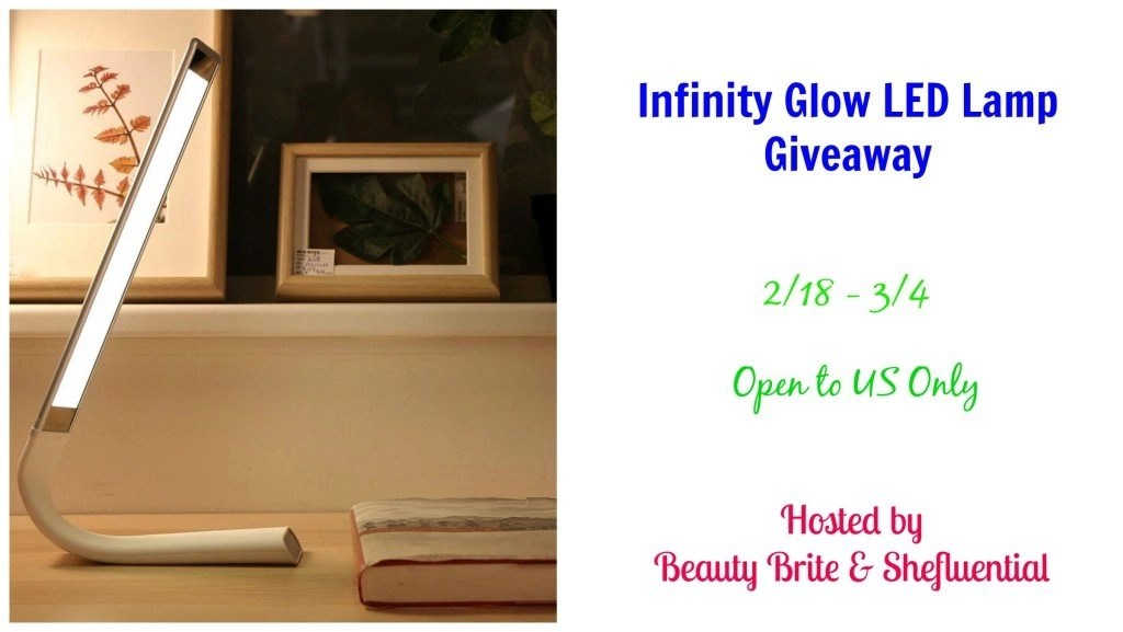 Infinity Glow LED Lamp Giveaway