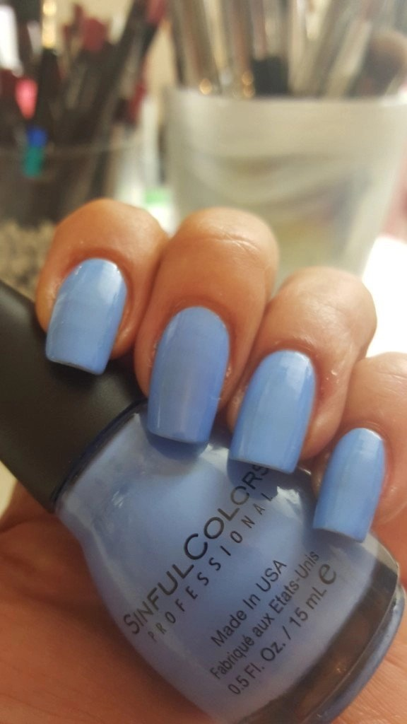 SinfulColors Sail La Vie nail polish