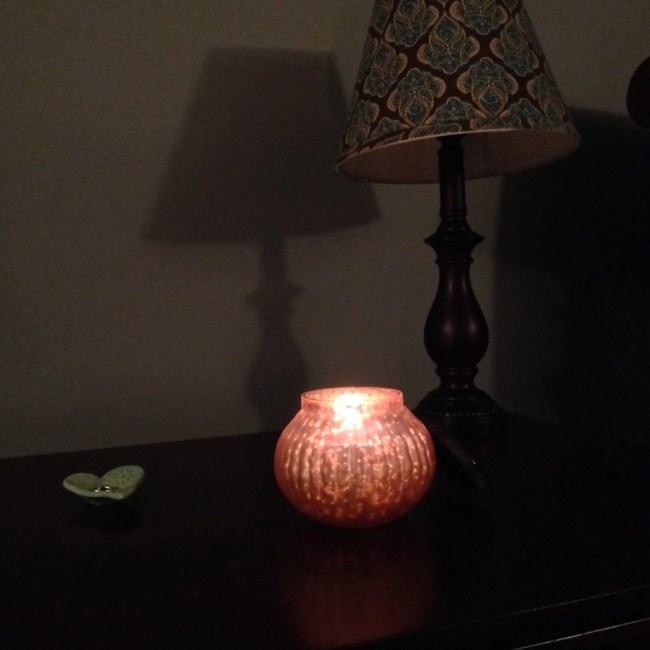 Northern Lights Candle