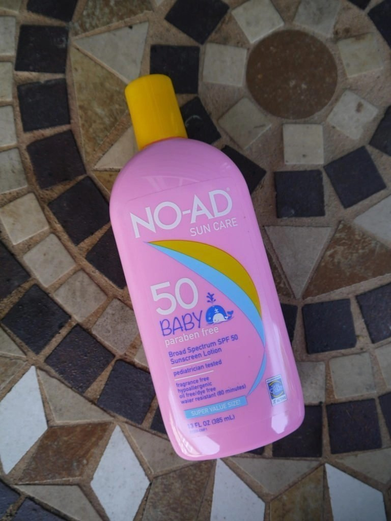 NO-AD Baby Sun Care Lotion SPF 50