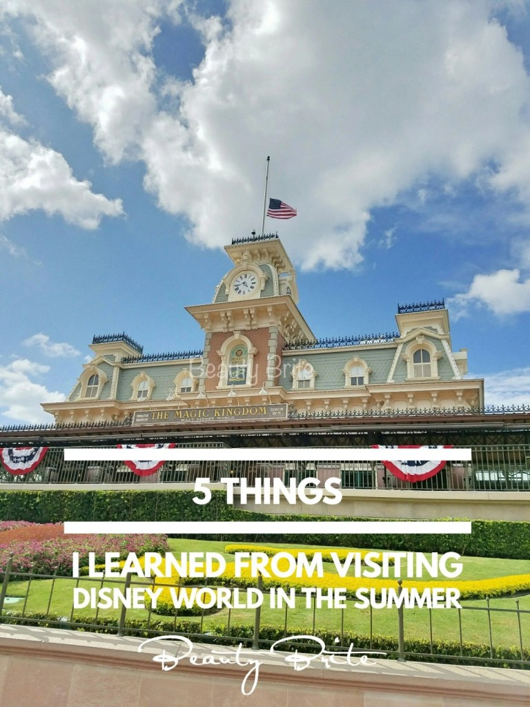 5 Things I Learned From Visiting Disney World In The Summer