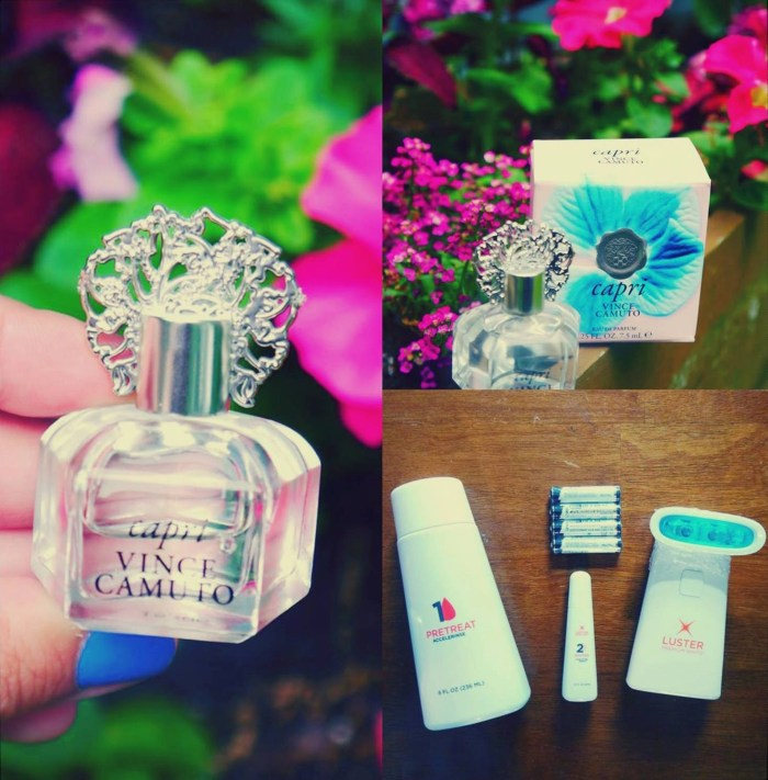 Get Ready For Summer - Capri Vince Camuto Fragrance and Luster Premium Pro Light Dental System