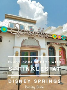 Enjoy Cool Treats With Sprinkles At Disney Springs