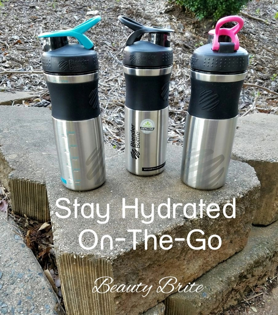 Stay Hydrated On-The-Go