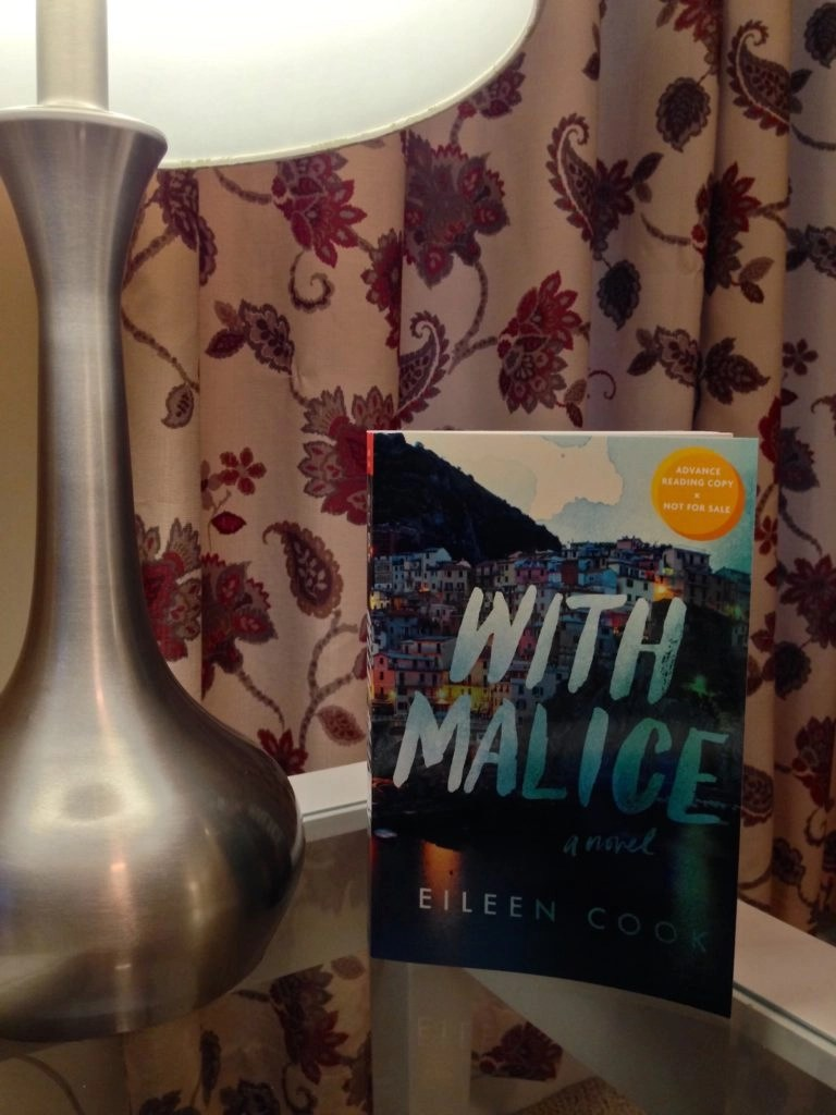 YA Thriller Read For Your Armchair Vacay - With Malice by Eileen Cook
