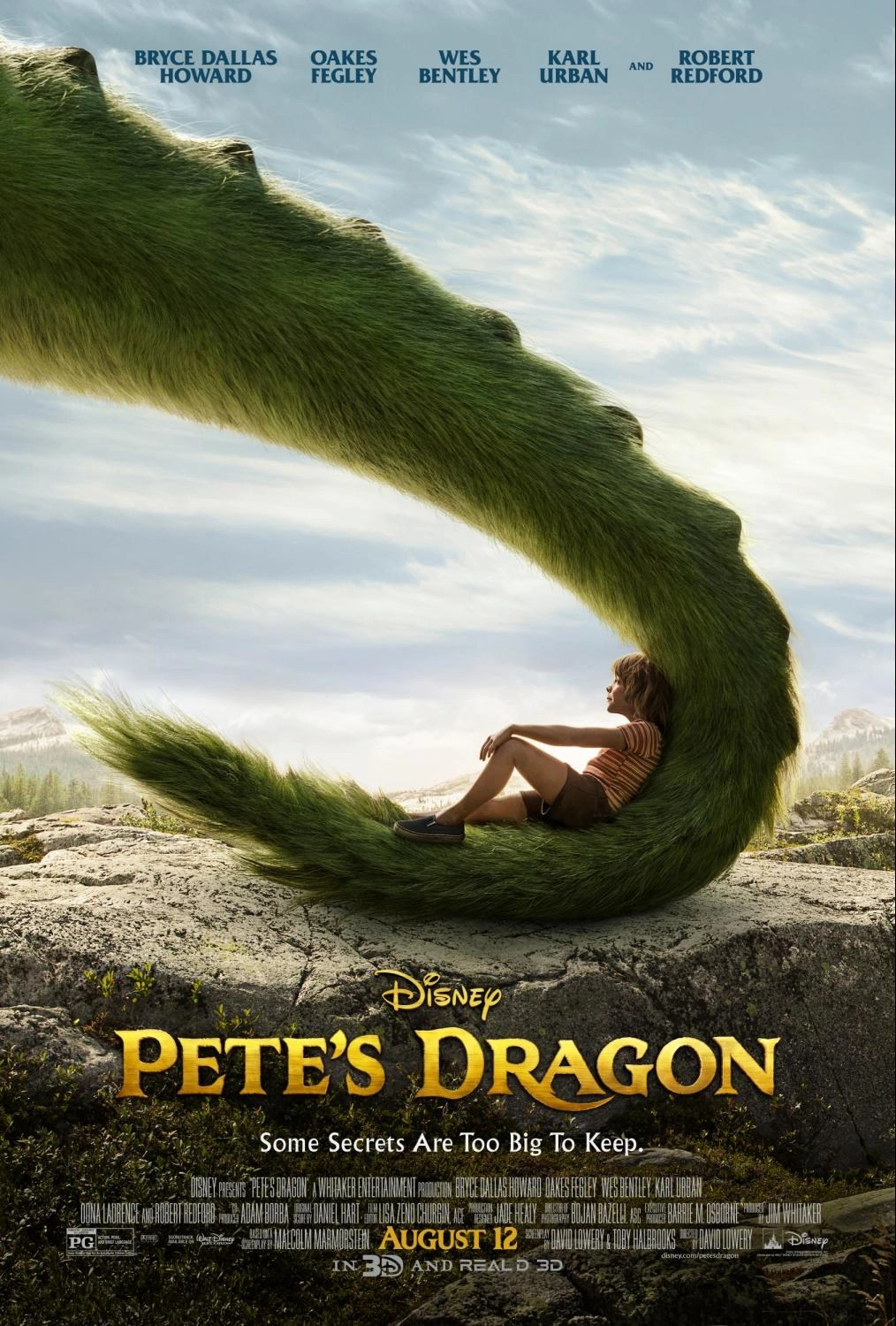 Here's Your First Look At Disney's Pete's Dragon
