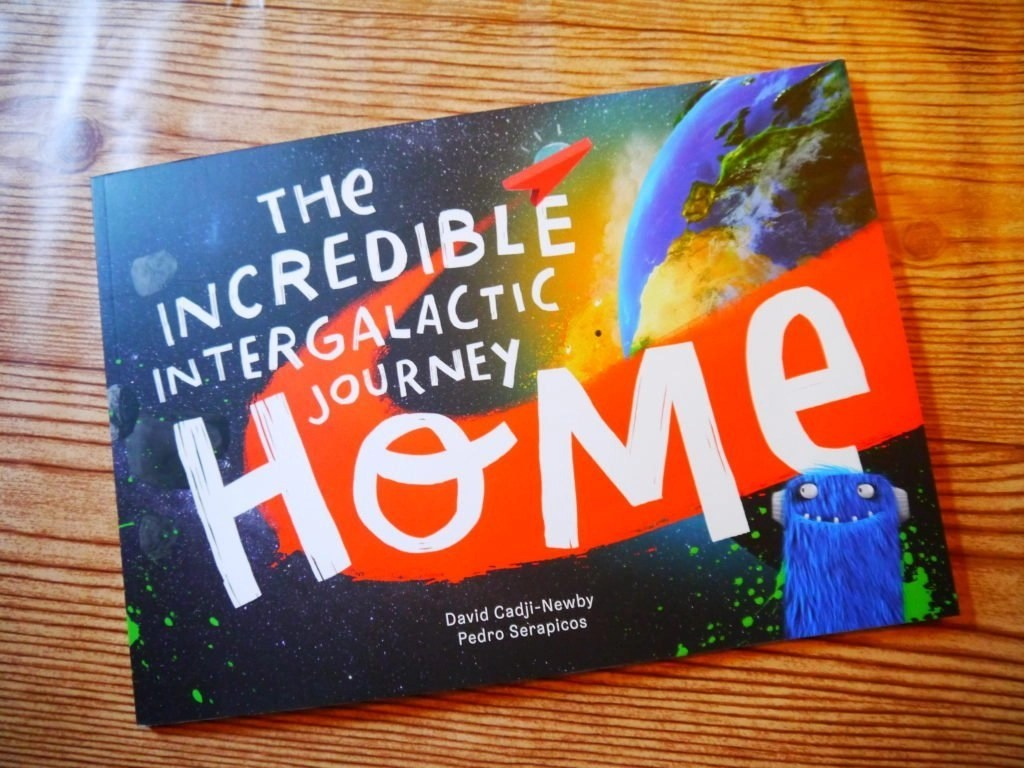 The Incredible Intergalactic Journey Home Book
