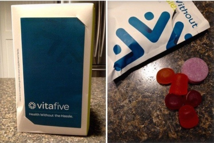 Easiest Way To Get Your Vitamins -- Vitafive Monthly Vitamin Subscription